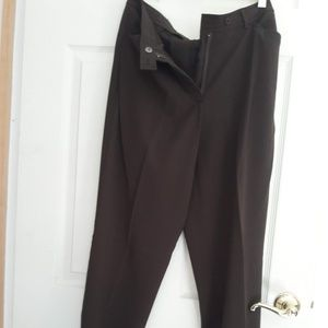 Pants - Brown Stretch Trousers